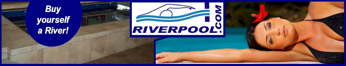 River Pool Header